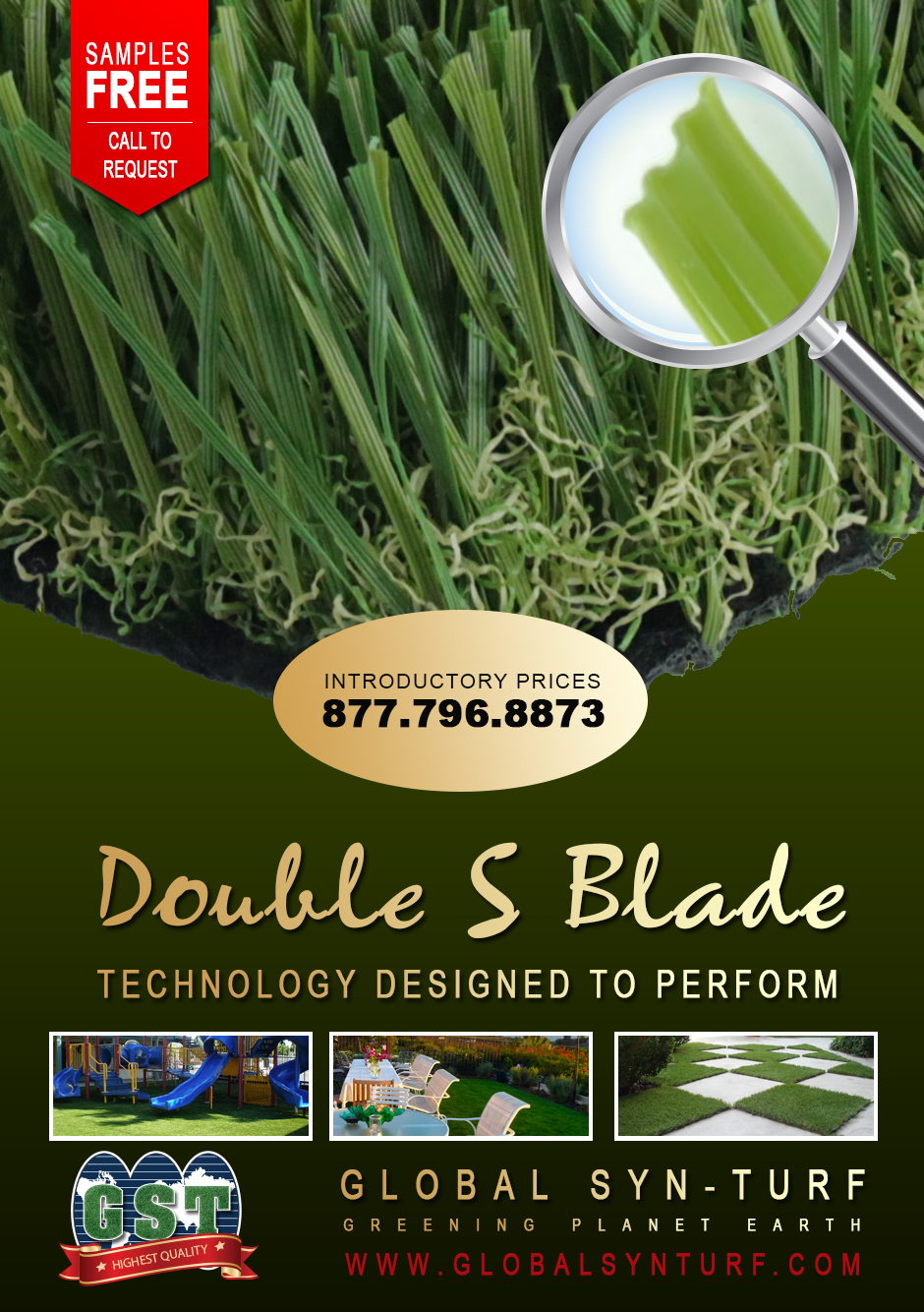 syntheticgrass Global Syn-Turf Launches Premium Double S Blade Artificial Grass Technology