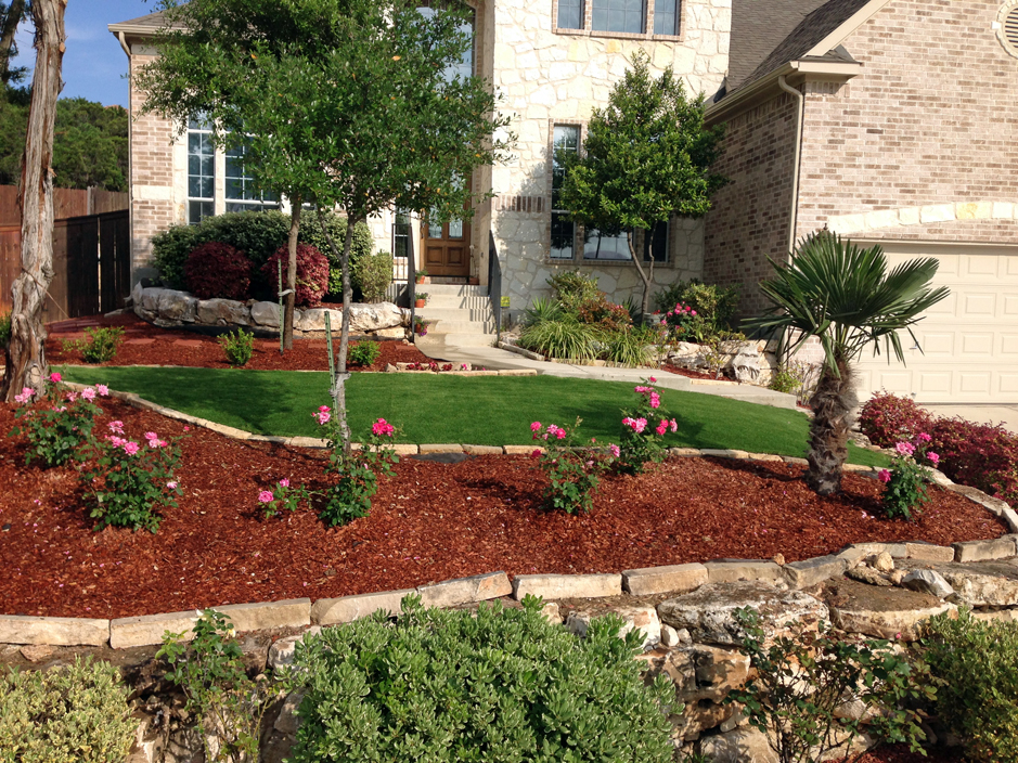 Florida Landscaping Ideas For Front Yard Part - 42: Grass Installation Ormond-by-the-Sea, Florida Landscape Design, Front Yard  Landscape Ideas
