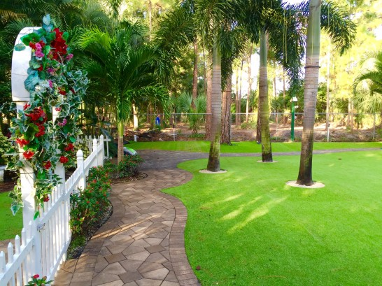 Artificial Grass Photos: Artificial Grass Groveland, Florida Landscape Rock, Front Yard Landscape Ideas
