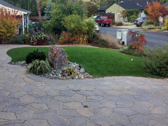 Artificial Grass Photos: Fake Lawn Bay Lake, Florida Landscape Rock, Front Yard Landscape Ideas