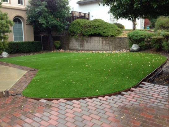 Artificial Grass Photos: Green Lawn Jacksonville Beach, Florida Landscape Rock, Front Yard Ideas