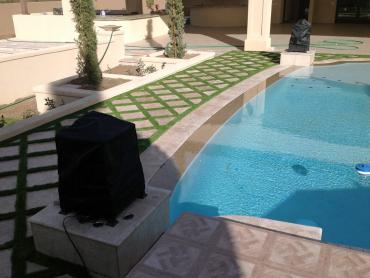 Artificial Grass Photos: How To Install Artificial Grass High Springs, Florida Lawn And Garden, Natural Swimming Pools
