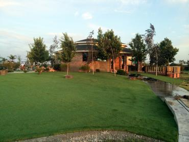 Artificial Grass Photos: Installing Artificial Grass Holly Hill, Florida Landscaping Business, Commercial Landscape