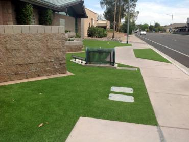 Artificial Grass Photos: Installing Artificial Grass Lecanto, Florida Rooftop, Small Front Yard Landscaping