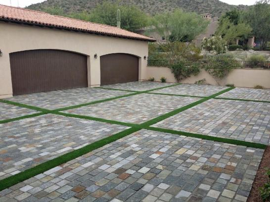 Artificial Grass Photos: Plastic Grass Umatilla, Florida Backyard Deck Ideas, Front Yard Landscaping