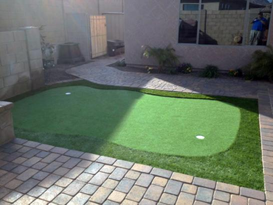 Artificial Grass Photos: Synthetic Grass Fort White, Florida Artificial Putting Greens, Beautiful Backyards