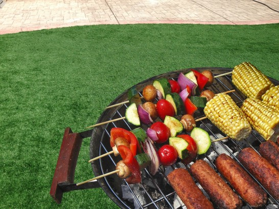 Time for a Barbeque! artificial grass