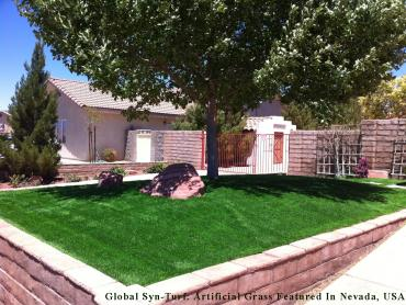 Artificial Grass Photos: Turf Grass Yulee, Florida Landscape Rock, Front Yard
